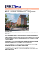 06-11-2017 Bronx Times_Bronx Commons wins Richman Group Award