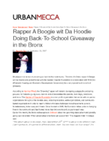 09-20-2017 UrbanMecca_Rapper A Boogie wit Da Hoodie Doing Back-To-School Giveaway in the Bronx