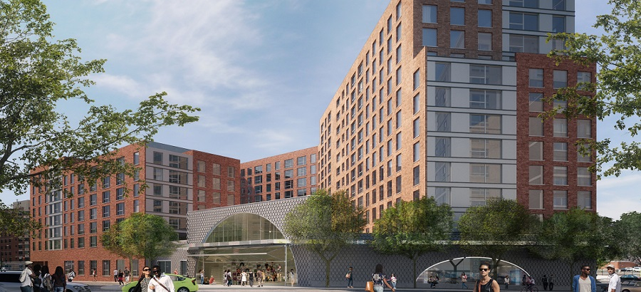 Bronx Commons rendering 1