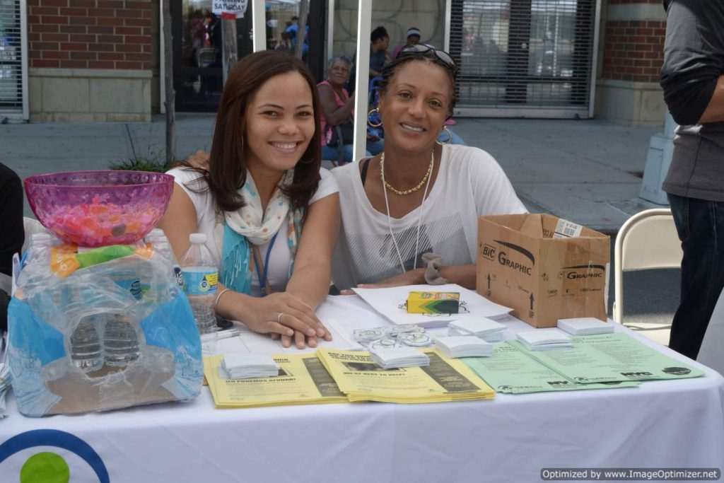 WHEDco Family Support at Bronx Summer Fest 2016.