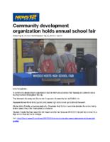 09-26-2018 News 12 Bronx_Community development organization holds annual school fair