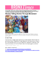 10-01-2018 BronxTimes_Women Telling Stories Through Movement